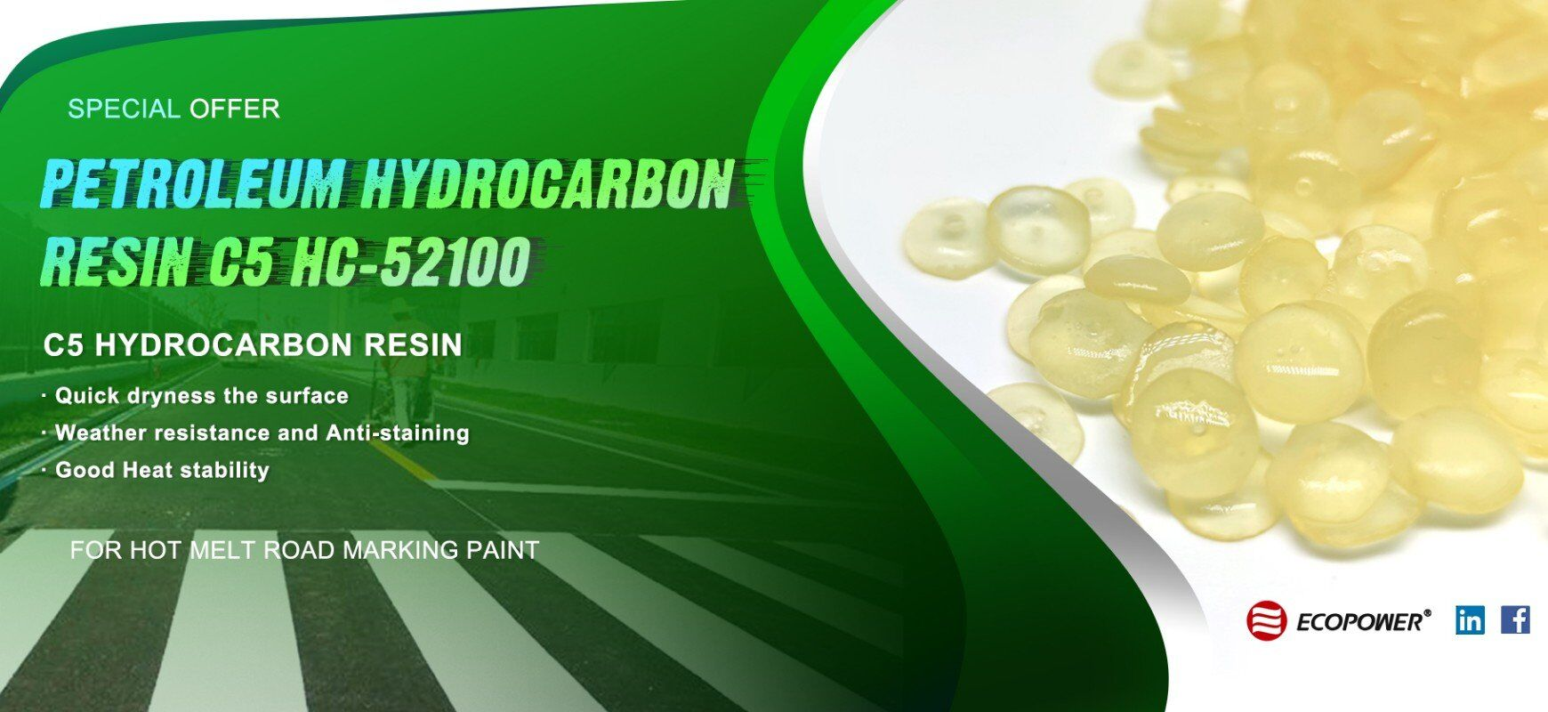 Petroleum Hydrocarbon Resin C5