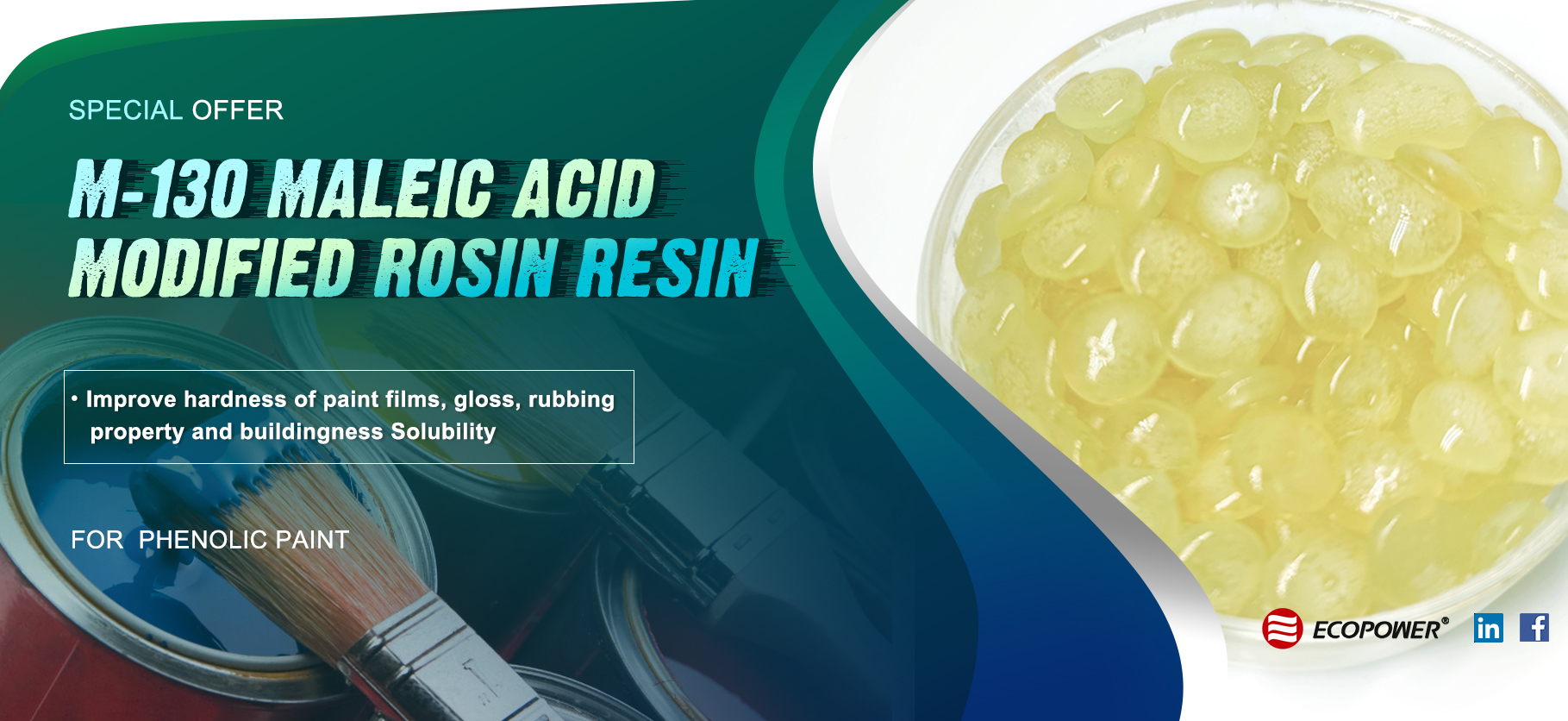 ECOPOWER M-130 Maleic Acid Resin