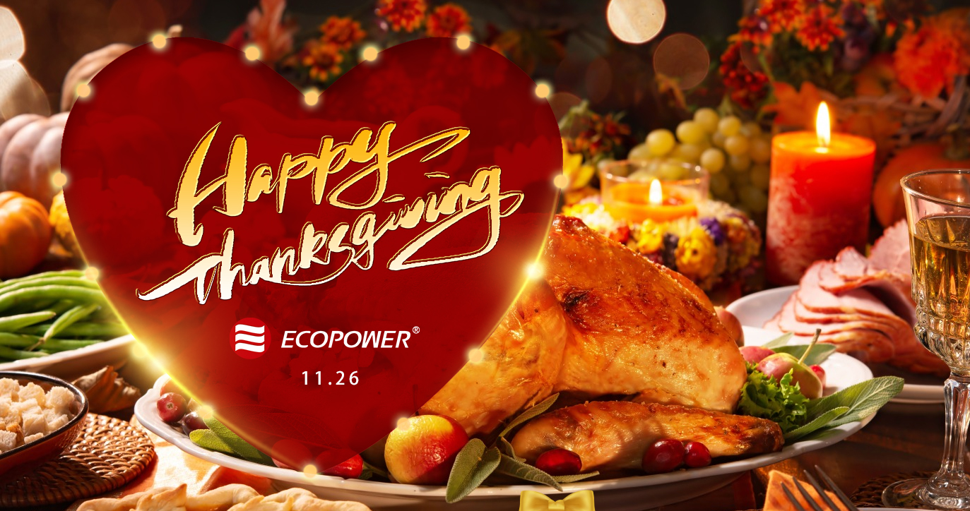 ECOPOWER Thanksgiving Day