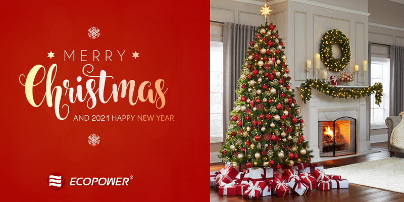 ECOPOWER Merry Christmas.