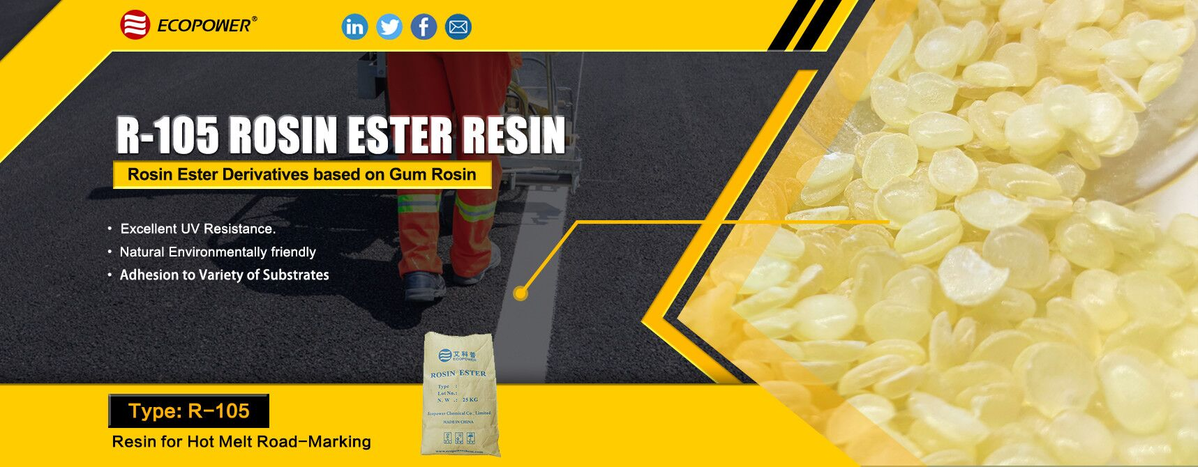 R-105 ROSIN ESTER RESIN