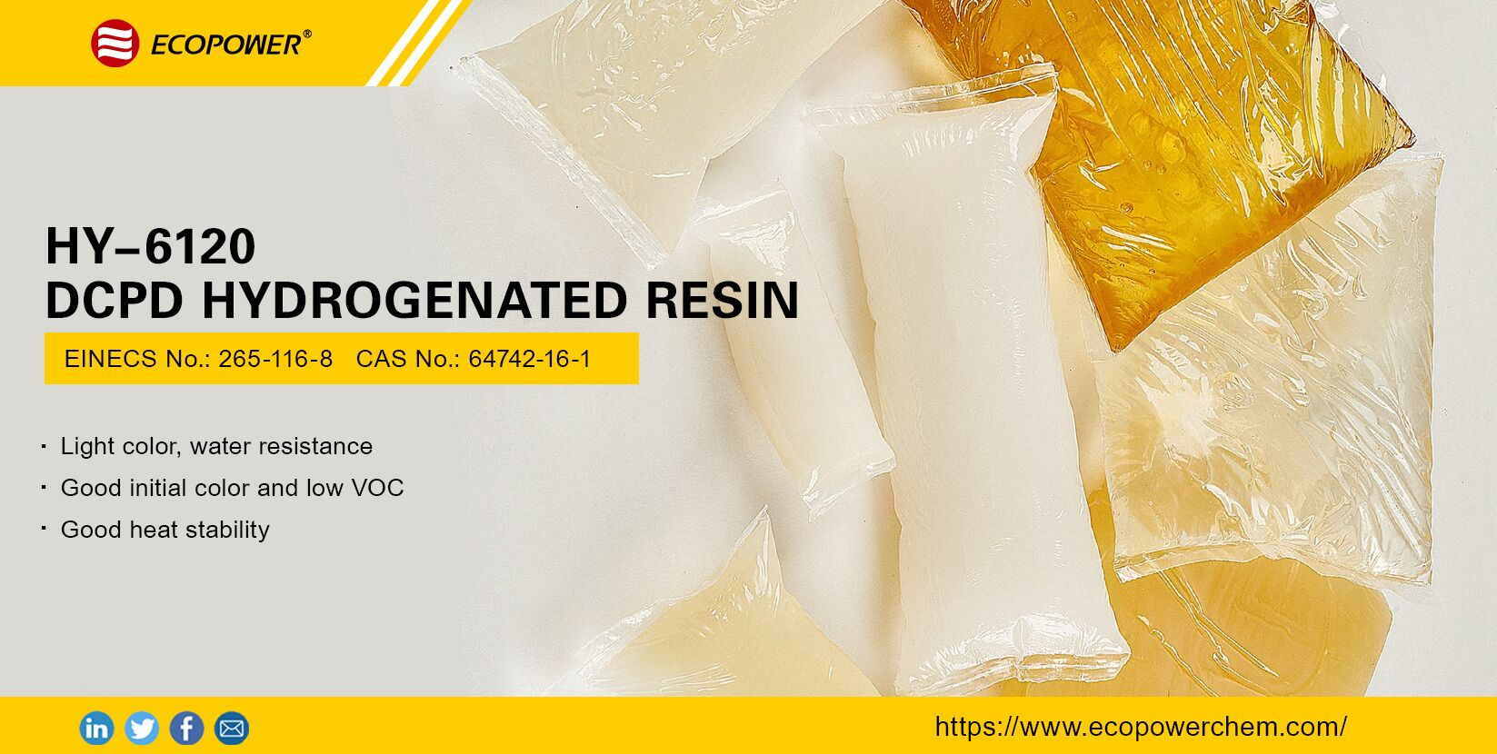 DCPD Hydrogenated Resin